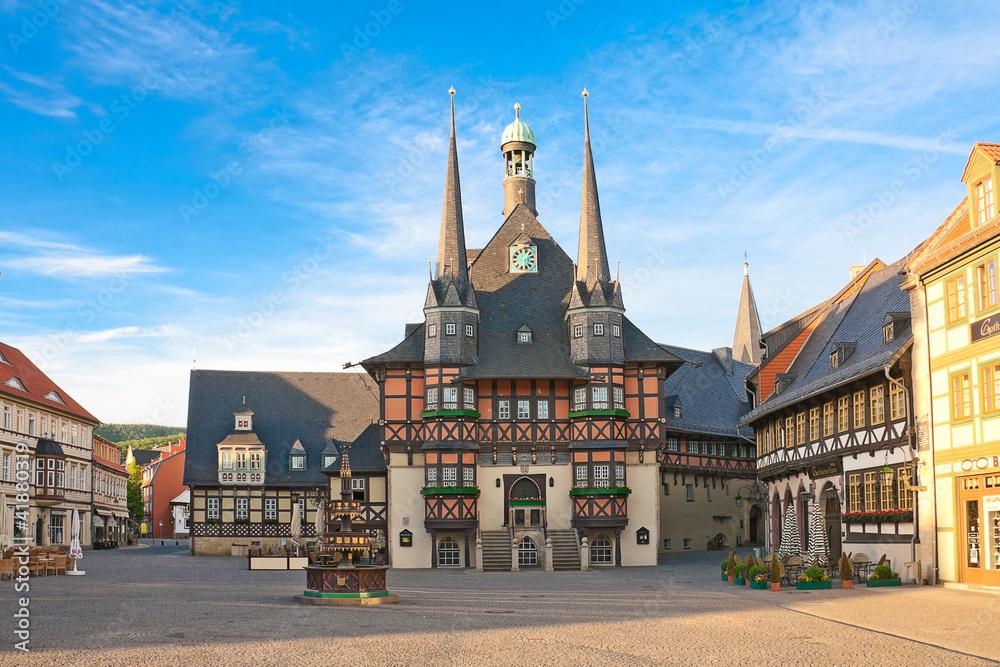 Fototapety, obrazy: Marktplatz Wernigerode