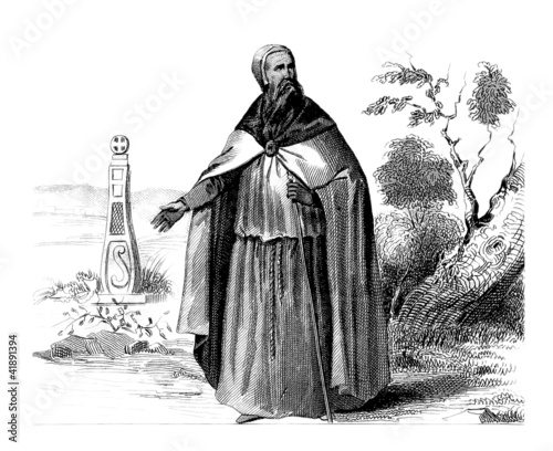 Photo Celtic Priest - 7th Century