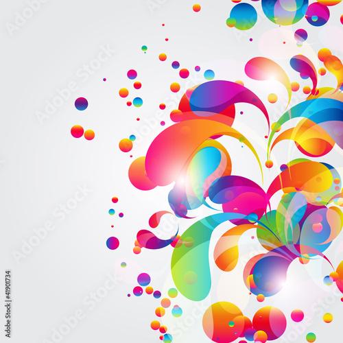 abstrakcjonistyczny-kolorowy-luku-kropli-tlo