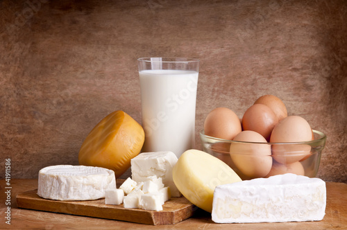Fotografía  dairy products