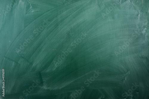 Fotografía  close up of an empty school green  chalkboard