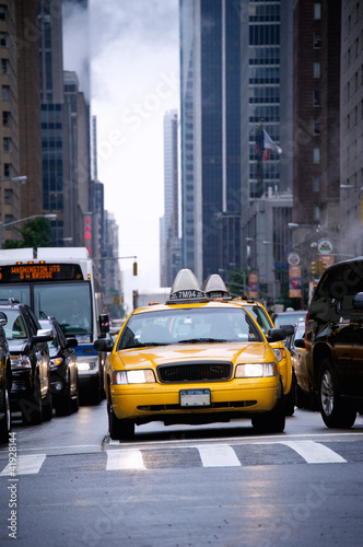 Naklejki na lodówkę new-york-street