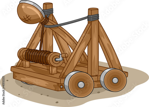 Canvas Print Catapult