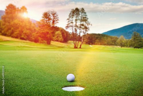 Foto op Plexiglas Golf Golf