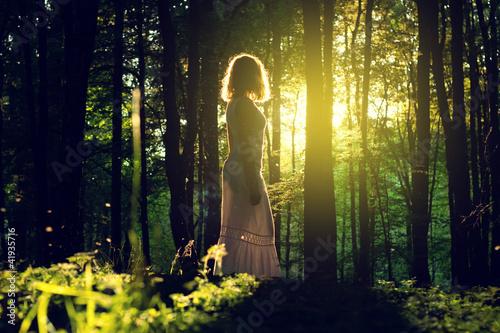 Foto-Kissen - In the Forest (von lassedesignen)