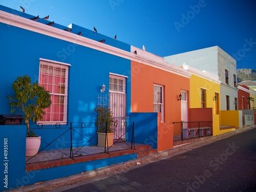Foto-Kassettenrollo premium - Bo Kaap, Cape Town