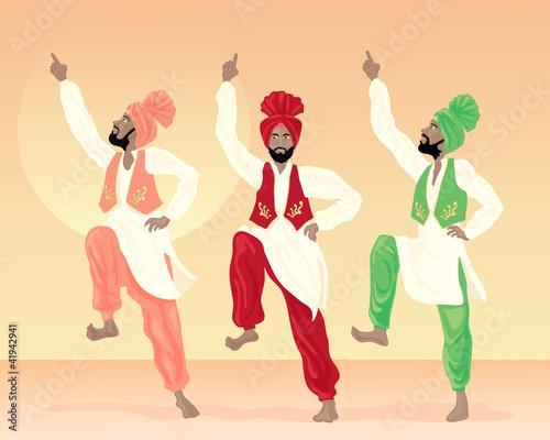 Αφίσα  punjabi dancing