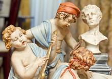 Ceramic Statue, Ceramics Of Capodimonte