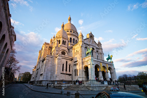 Photo  Paris. Sacre Coeur am Montmartre