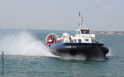 Passenger Hovercraft to the Isle of Wight Wallpaper Mural