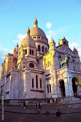 Photo  Paris. Sacre Coeur am Montmartre