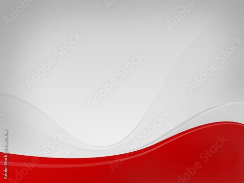 Light gray background Dizzy-HF, red wave