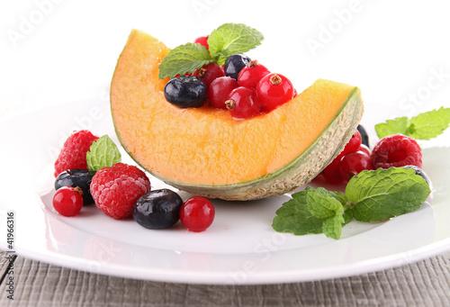 Cadres-photo bureau Nature fresh healthy dessert