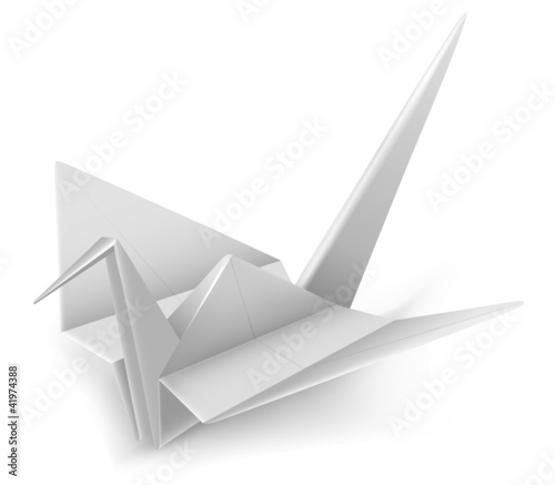 Crane Origami Japanese Peace Symbol Buy This Stock Vector And
