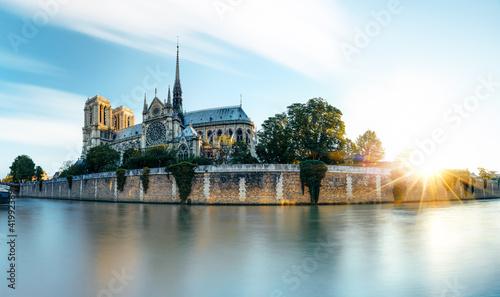 Obraz Paryż, katedra Notre Dame, Francja - fototapety do salonu