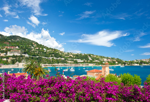 Fotografie, Obraz  Cote d'Azur, french reviera, Villefranche-sur-Mer