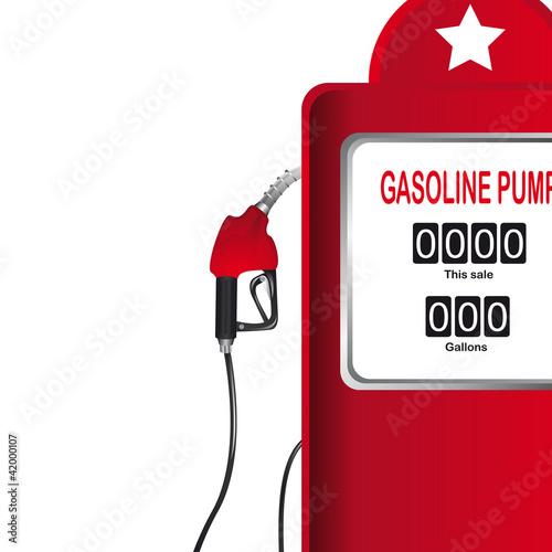 gasoline pump Fototapeta