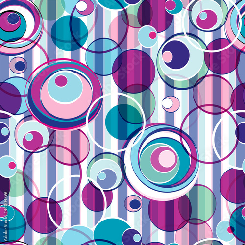 kolo-abstrakcyjne-wzor-tla-bez-szwu