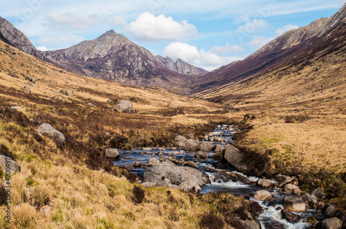 Glen Rosa on the Isle of Arran, Scotland Canvas Print