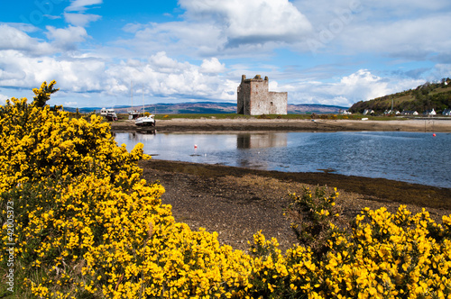 Lochranza Castle on the Isle of Arran, Scotland Canvas Print