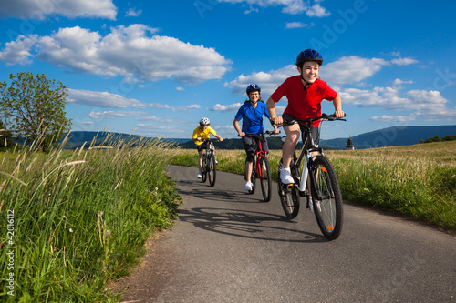 Foto  Cyclists