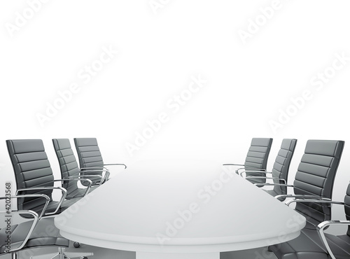 Obraz empty meeting room - fototapety do salonu