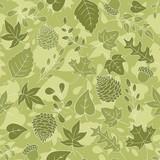Retro Leaf Background
