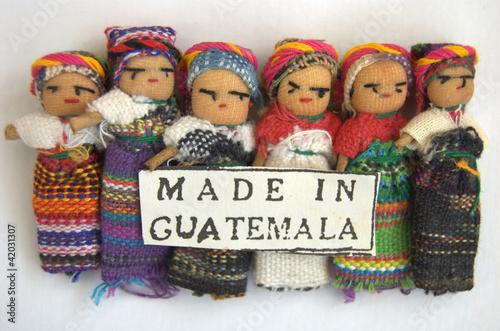 Fotografering  Guatemalan Worry Dolls