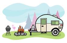 Camper Illustration