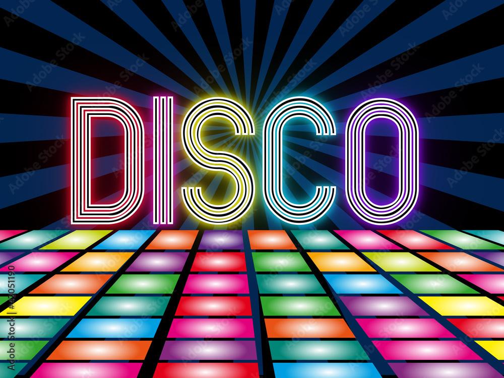 Fototapety, obrazy: Disco