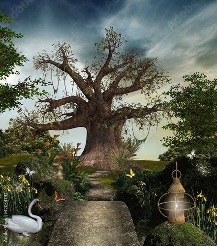 Tematy obrazów bajeczny-ogrod