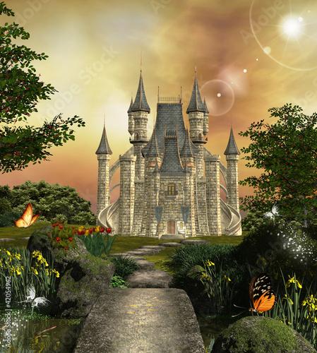 Tematy obrazów zamek-w-zaczarowanym-ogrodzie
