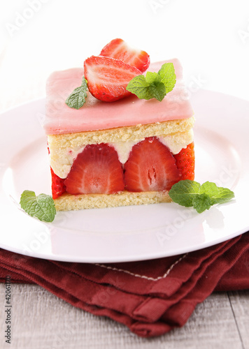 strawberry shortcake Canvas Print