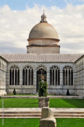 Photo  Pisa, piazza dei miracoli - Cimitero Monumentale