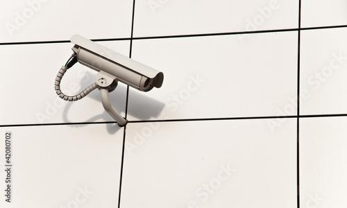 Videouberwachung Haus Sicherheit Buy This Stock Photo And