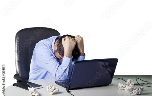 Fotografía  Frustrated businessman