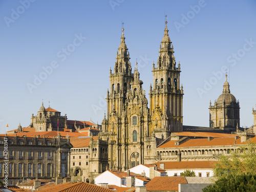Fotografia Cathedral of Santiago de Compostela in Galicia, Spain.