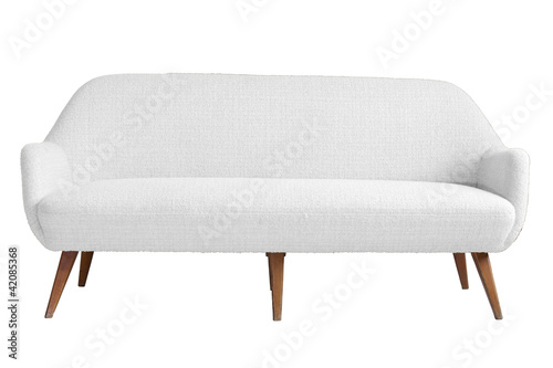 Valokuva  Modern armchair with isolated white color backgraound and cut ou