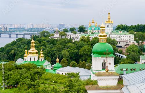 Foto op Plexiglas Kiev View of Kiev Pechersk Lavra Orthodox Monastery. Ukraine