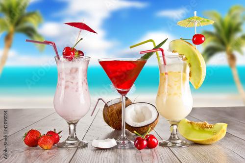 Fototapeta Summer drinks obraz na płótnie