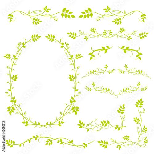 Láminas  植物フレーム