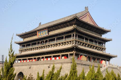 Papiers peints Xian Drum Tower in Xian China