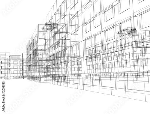 Obraz urbanisme - fototapety do salonu