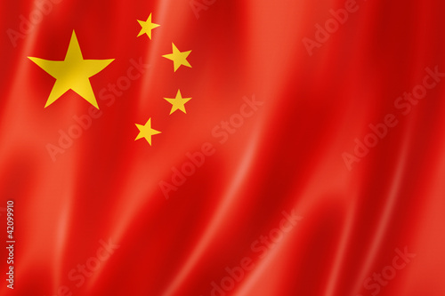 Chinese flag Wallpaper Mural