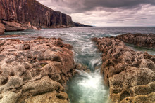 Cliffs Of Fanore Scenery In Ir...