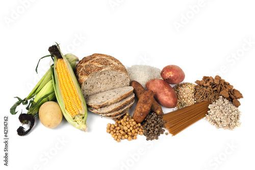 Fotografía  Food Sources of Complex Carbohydrates