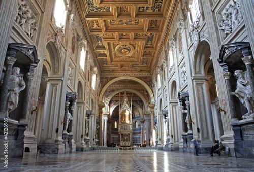 Rome -  basilica of Lateran basilica of st. John Wallpaper Mural