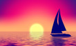 canvas print picture - vintage summer image
