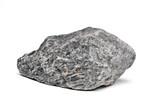 Fototapeta Kamienie - Rock boulder isolated on white