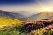 Leinwandbild Motiv mountain landscape